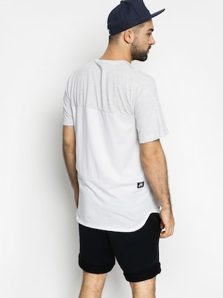 Nike SB Tričko Sb Dri Fit Blocked Pocket (grey/white)