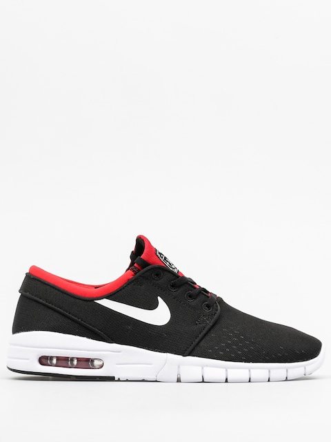 Nike SB Boty Stefan Janoski Max (black/white university red)