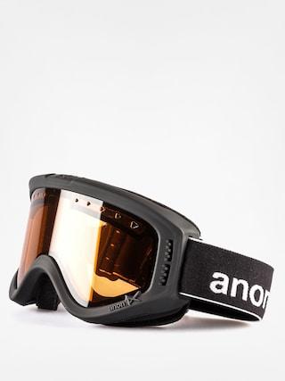 Brýle na snowboard Anon Dziecięce Tracker (black/amber)
