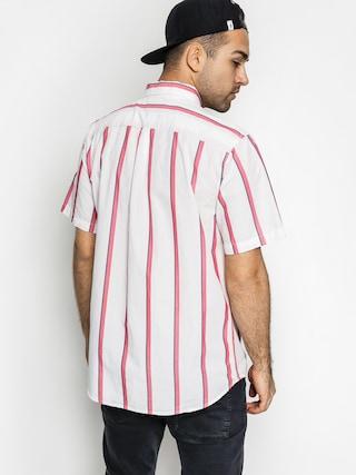 Košile OBEY Waylon Woven Ls (white/multi)