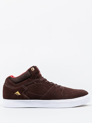 Boty Emerica The Hsu G6 X Chocolate (brown/white)