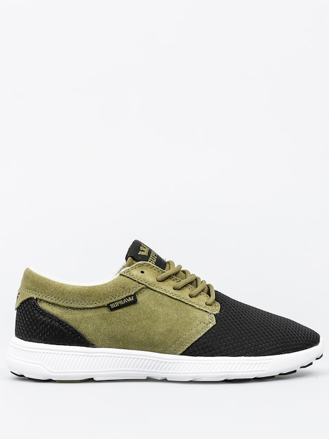 Boty Supra Hammer Run (olive/black white)