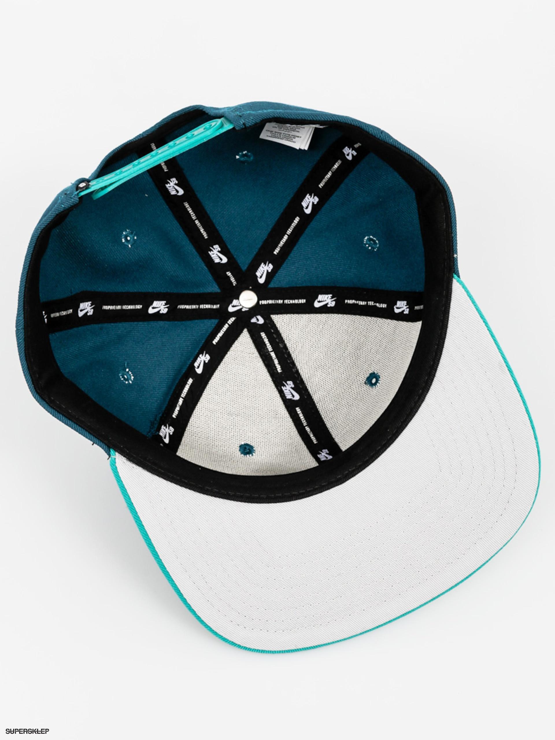 f98ec9fc903 Kšiltovka Nike SB Sb Icon Pro ZD (turquoise)