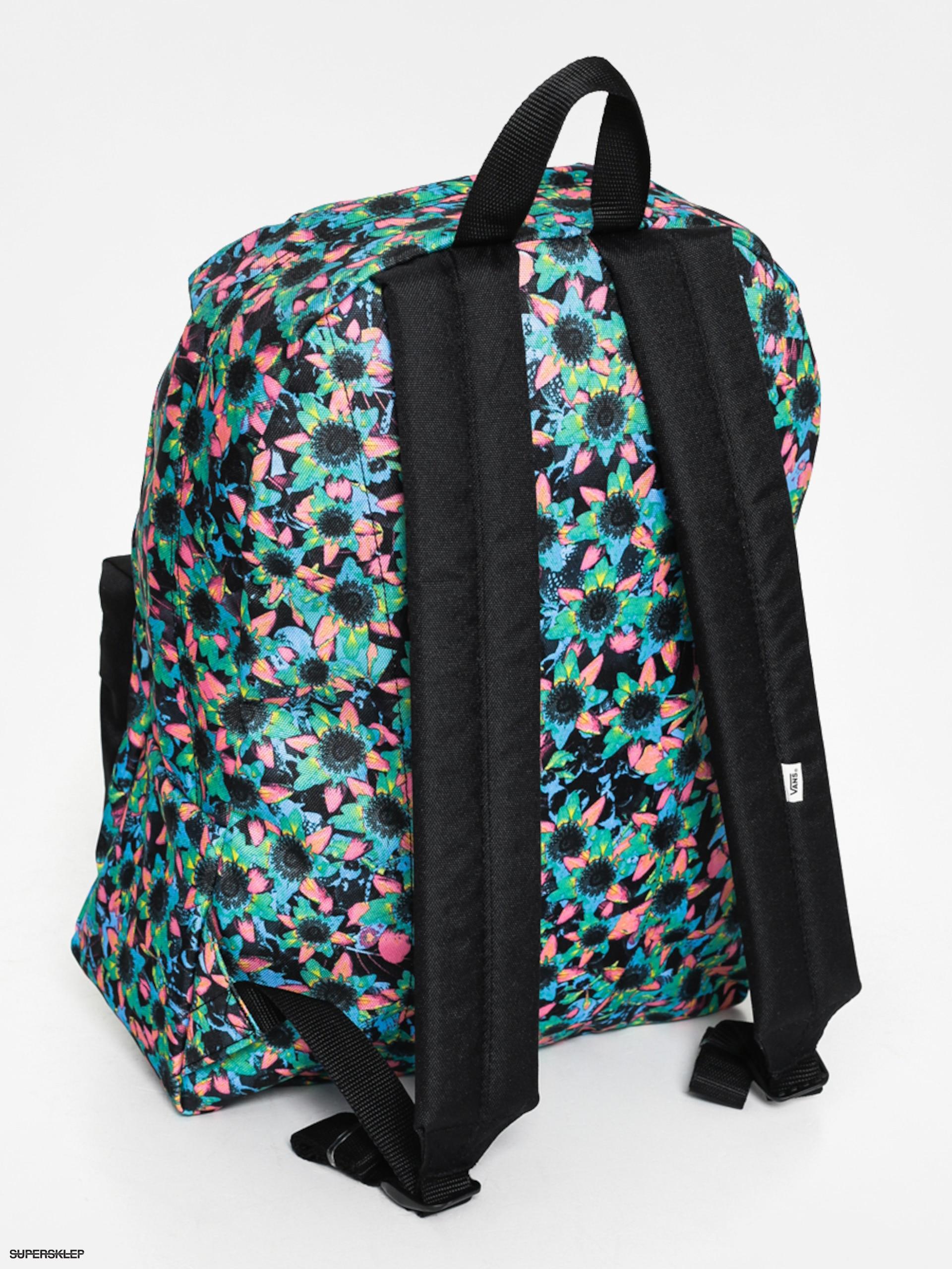 Batoh Vans Realm Wmn (floral mix black) e2a2546e83