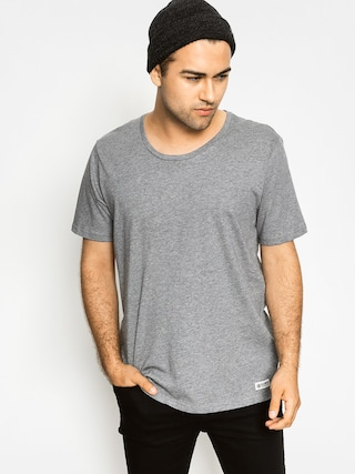 Tričko Element Basic Open Neck (grey heather)