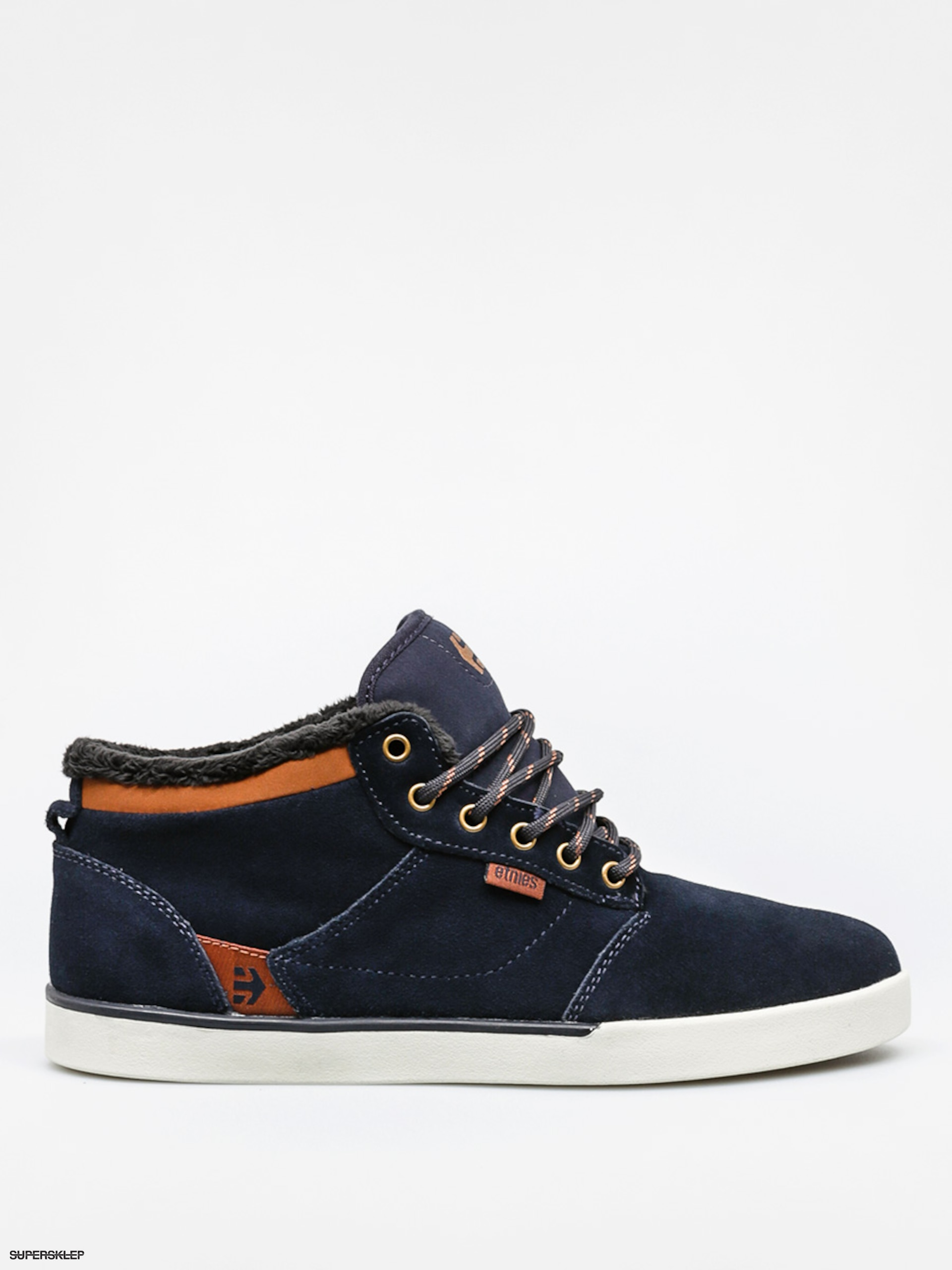 Boty Etnies Jefferson Mid (navy/brown/white)