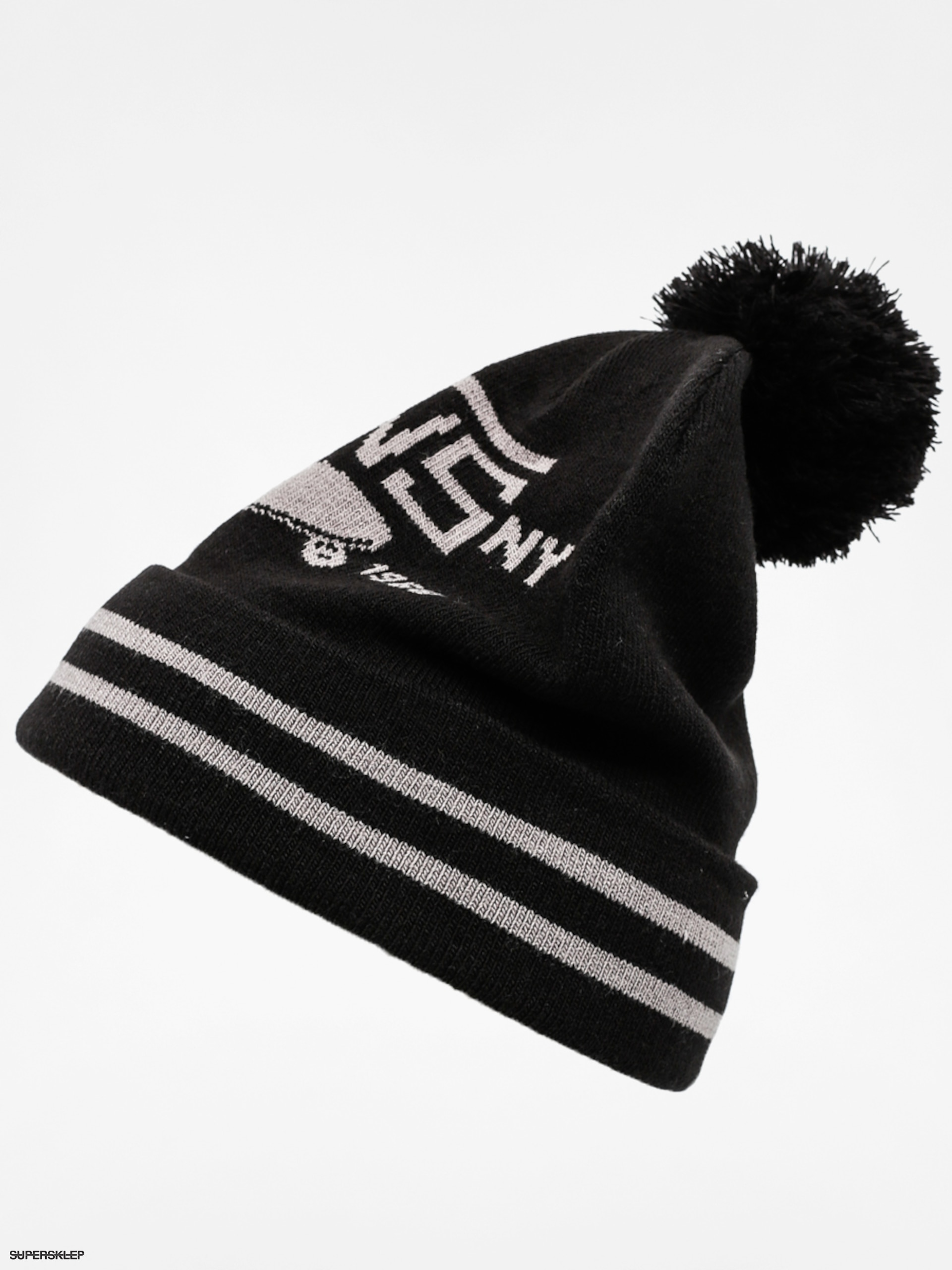 034fe89ce90 Čepice Vans Full Patch II Pom Beanie (black)
