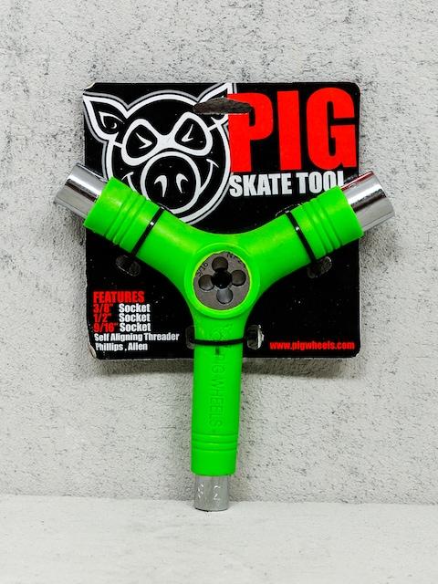 Klíč Pig Skate Tool (green)