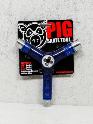 Příslušenství Klíč Pig Skate Tool (transparent blue)