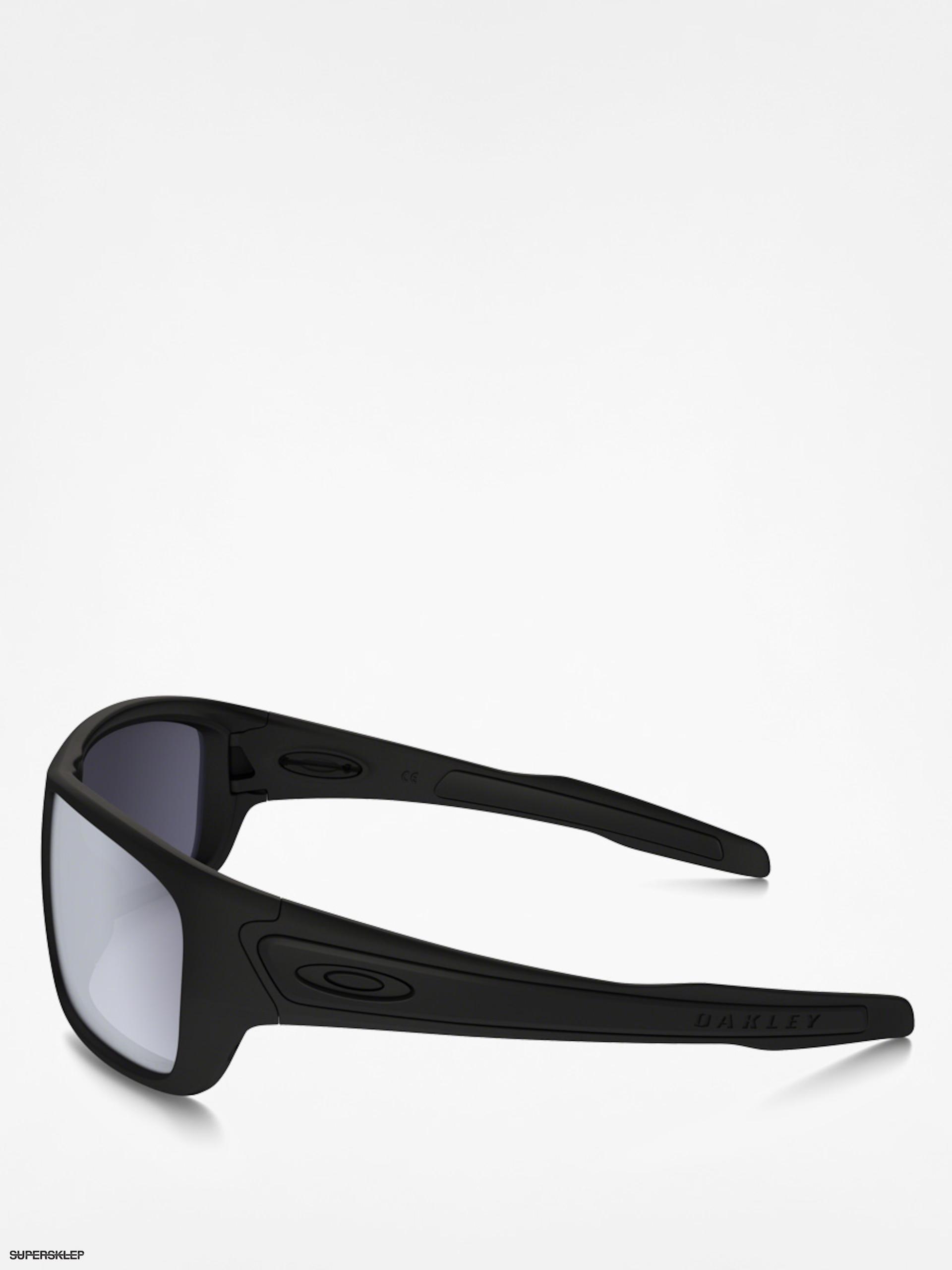 b8d20f0fa Sluneční brýle Oakley Turbine (matte black/grey polarized)