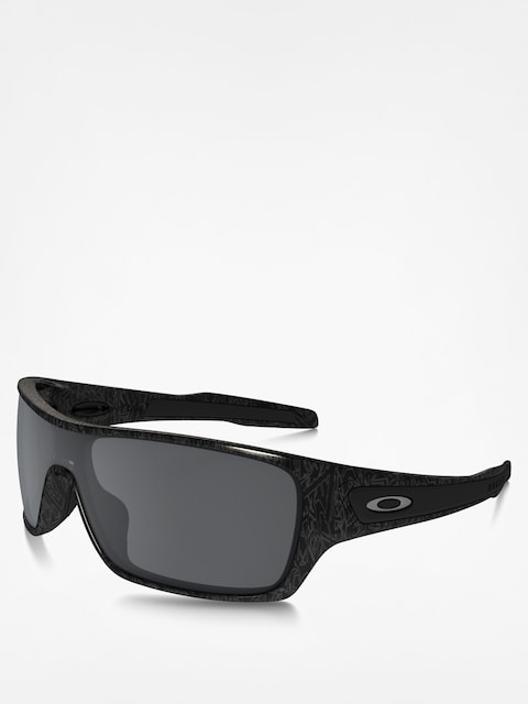 Sluneční brýle Oakley Turbine Rotor (black/silver ghost text/black iridium)