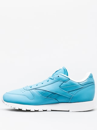 Boty Reebok Classic Leather Seasonal II Wmn (crisp blue/white)