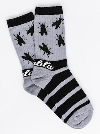 Ponožky Malita Fly (black/grey)