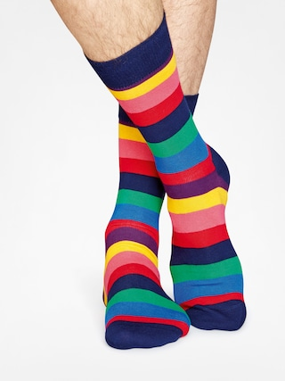 Ponožky Happy Socks Stripe (navy/multi)