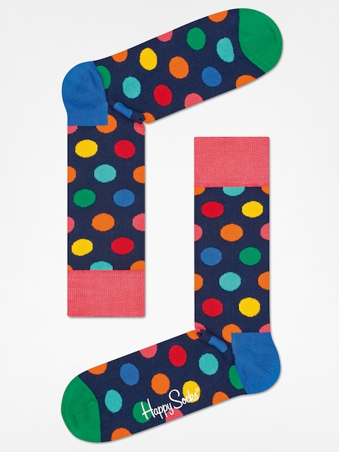 Ponožky Happy Socks Big Dot (navy/multi)