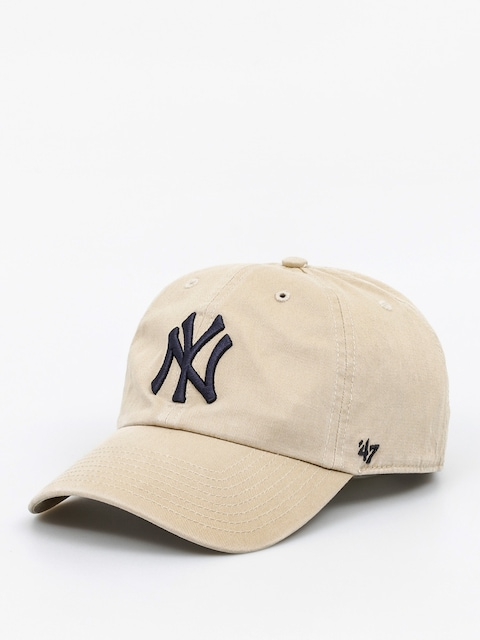 Kšiltovka  47 Brand New York Yankees ZD (washed khaki)