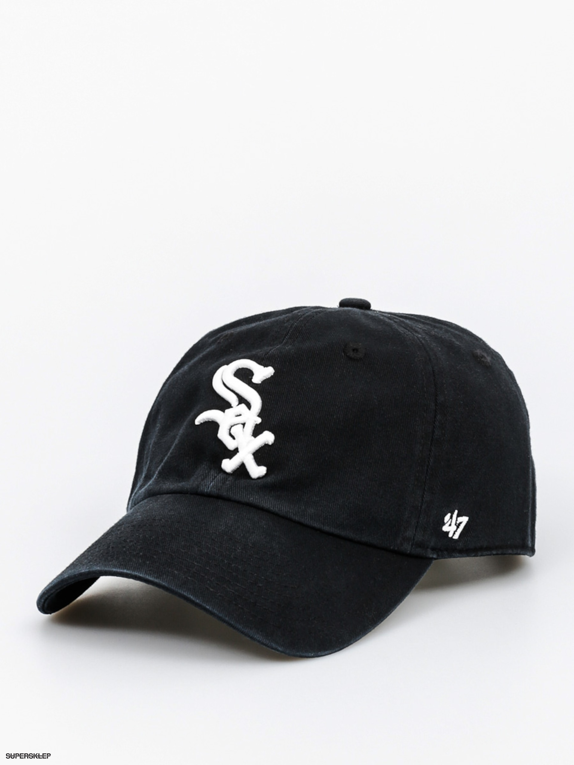 Kšiltovka  47 Brand Chicago White Sox ZD (washed black)