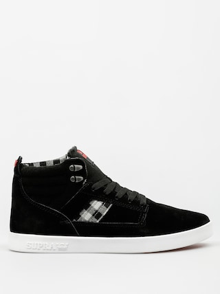 Boty Supra Bandit (black/plaid white)