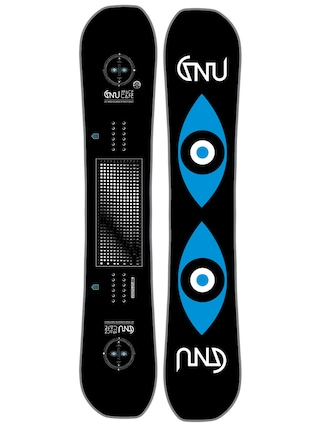 Snowboard Gnu FB Space Case AS (black)