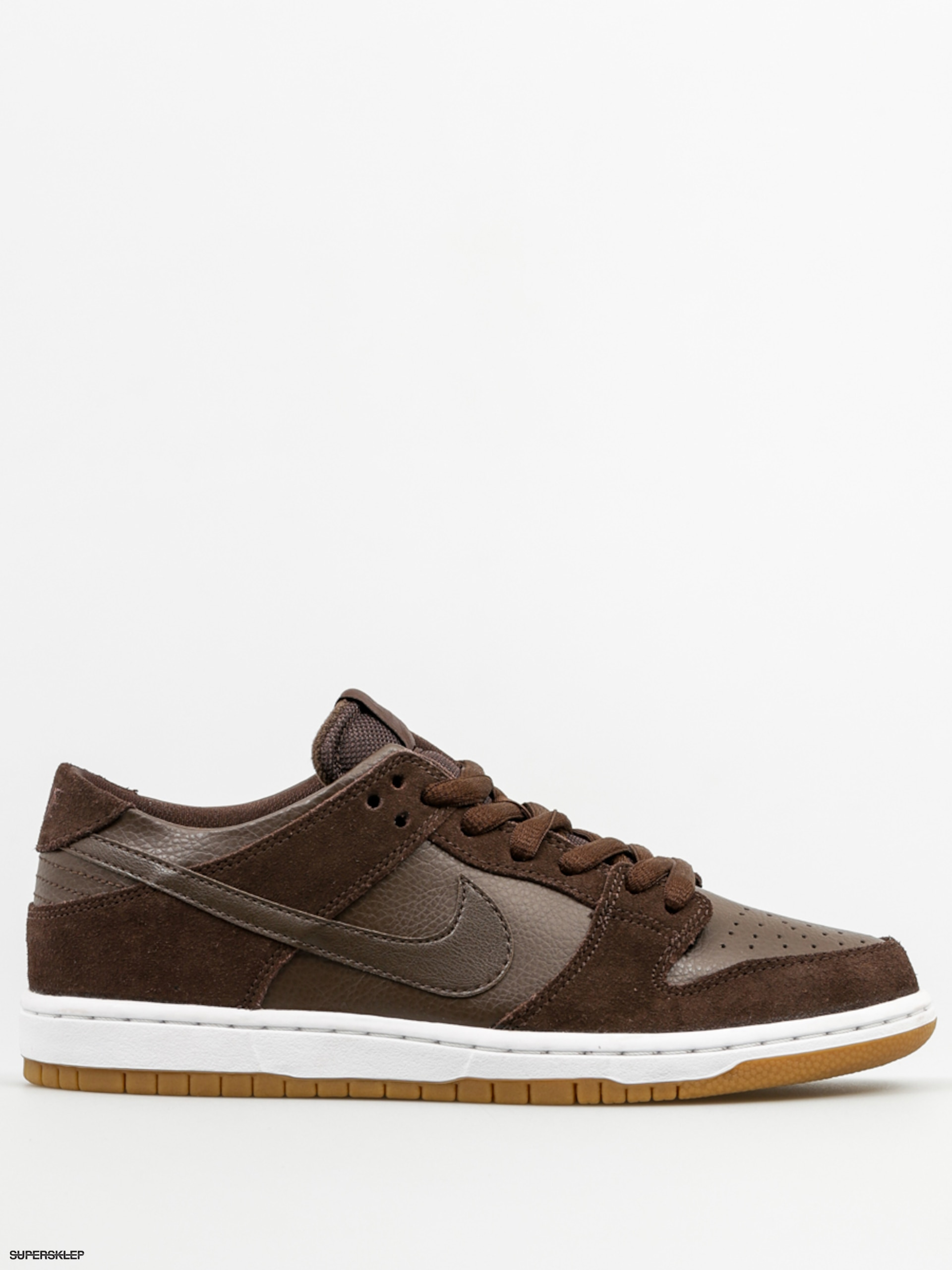 Boty Nike SB Dunk Low Pro Iw (baroque brown baroque brown wh) c75225fee6