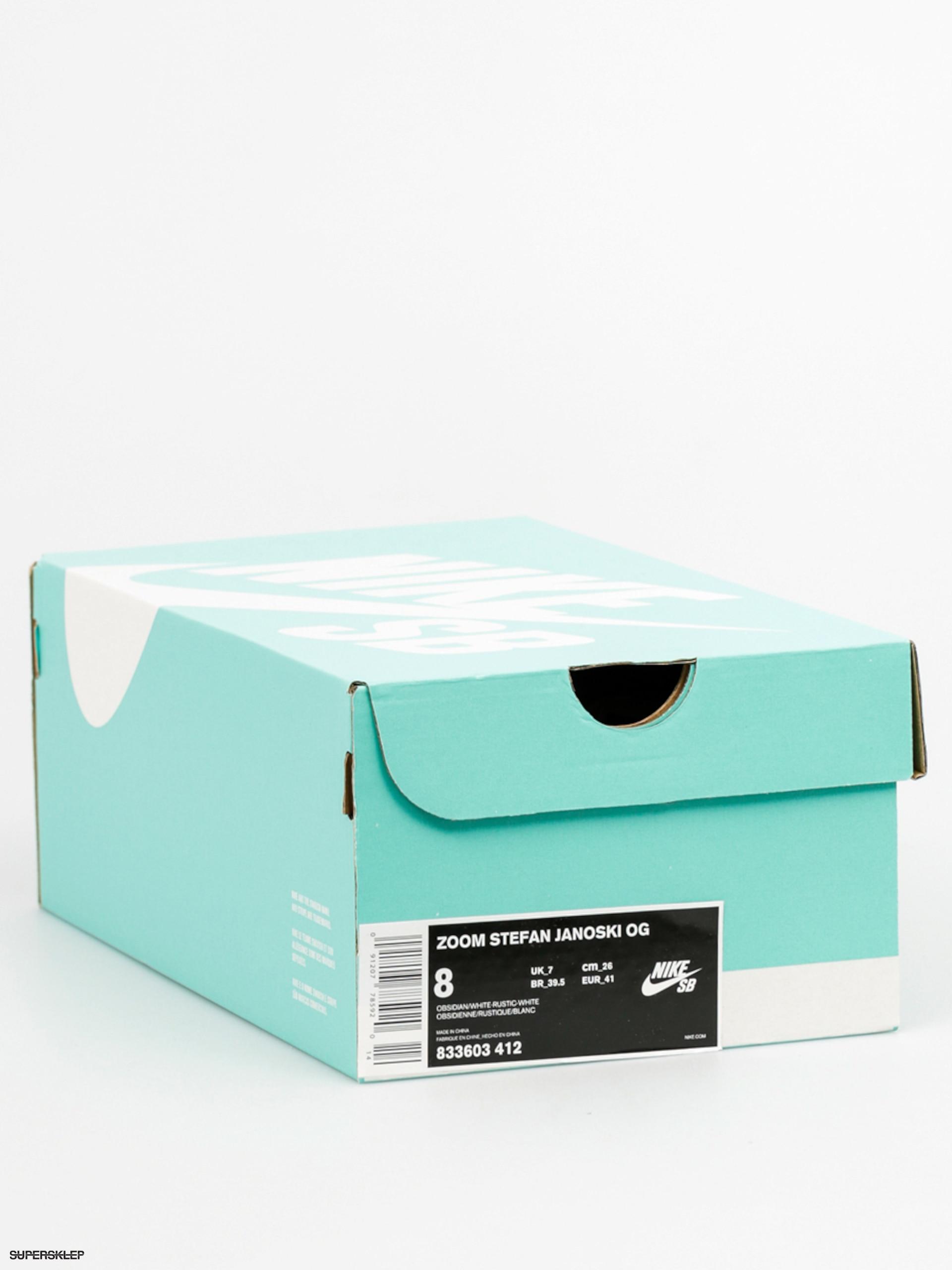 detailed look 55cbe 93440 Boty Nike SB Stefan Janoski Og (obsidian white rustic white)