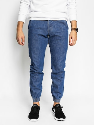 Turbokolor Kalhoty Trainer Chino (denim blue)