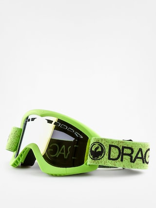 Brýle na snowboard Dragon DXS (green/smoke gold ion)