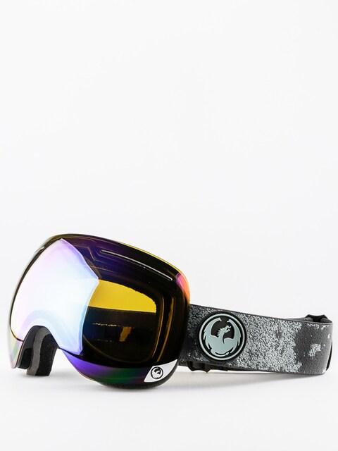 Brýle na snowboard Dragon X1 (mason grey/flash green polarized)
