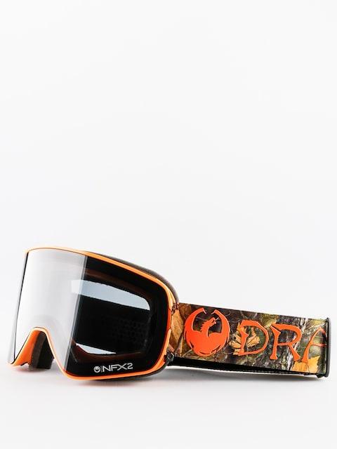 Brýle na snowboard Dragon NFX2 (danny davis signature/dark smoke/yellow red ion)