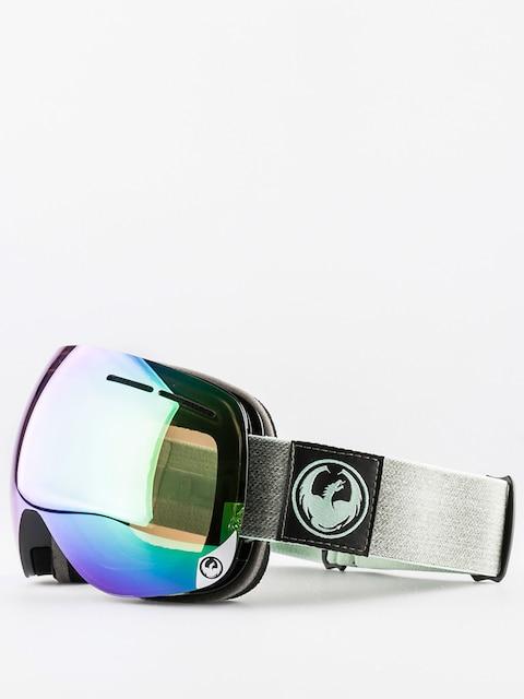 Brýle na snowboard Dragon X1s (hone emerald optimized flash green/optimized flash blue)
