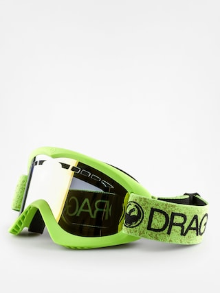 Brýle na snowboard Dragon DX (green/smoke gold ion)