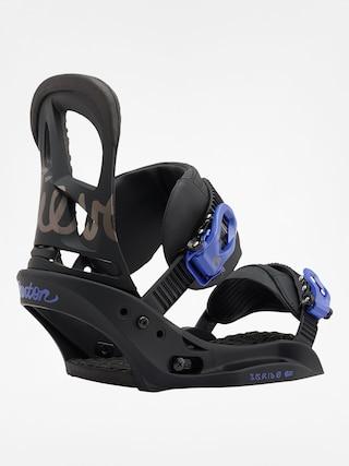 Snowboardové vázání Burton Scribe Est Wmn (black/lavender)