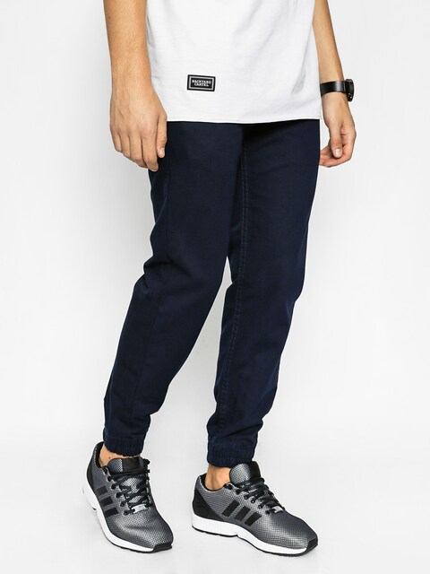 Kalhoty Backyard Cartel Jogger Chino (dark navy)