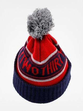 Čepice ThirtyTwo Pom Beanie (red heather)