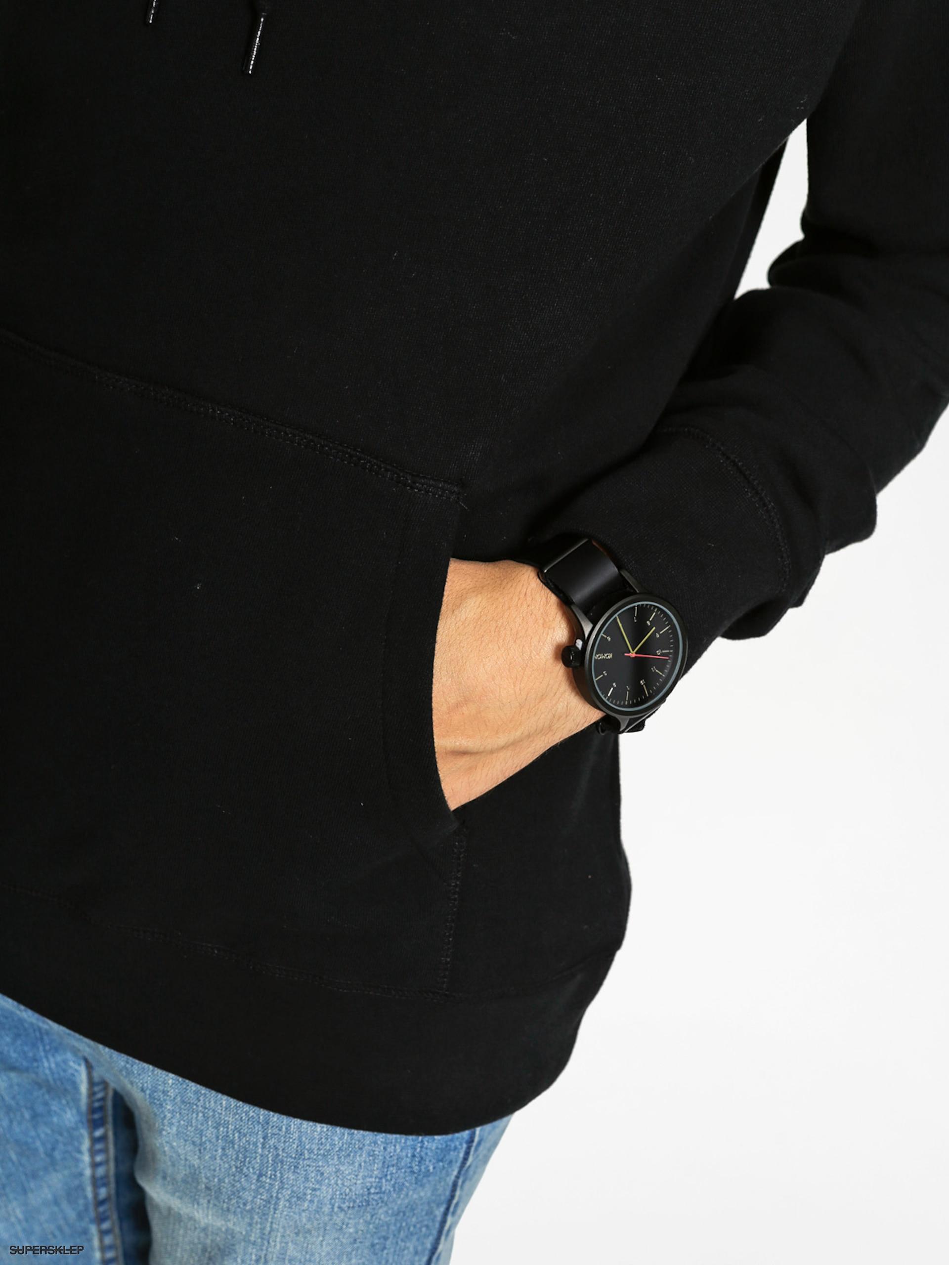 OBEY Mikina s kapucí Propaganda Seal HD (black) ea2a2a67551