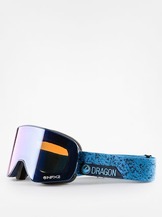 Brýle na snowboard Dragon NFX2 (stone blue/blue steel yellow red ion)