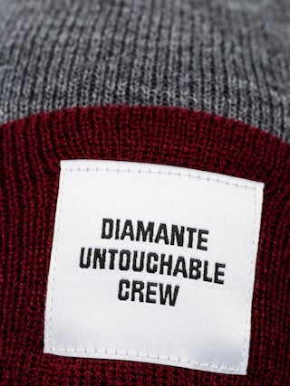 Čepice Diamante Wear Untouchable Crew (charcoal/purple)