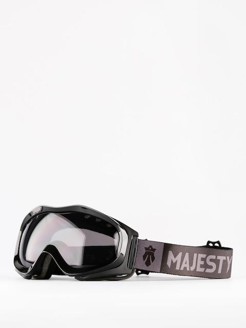 Brýle na snowboard Majesty Patrol (glossy black/black smoke)