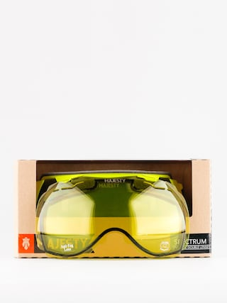 Brýle na snowboard Majesty Spectrum (matt lime/black smoke lens)