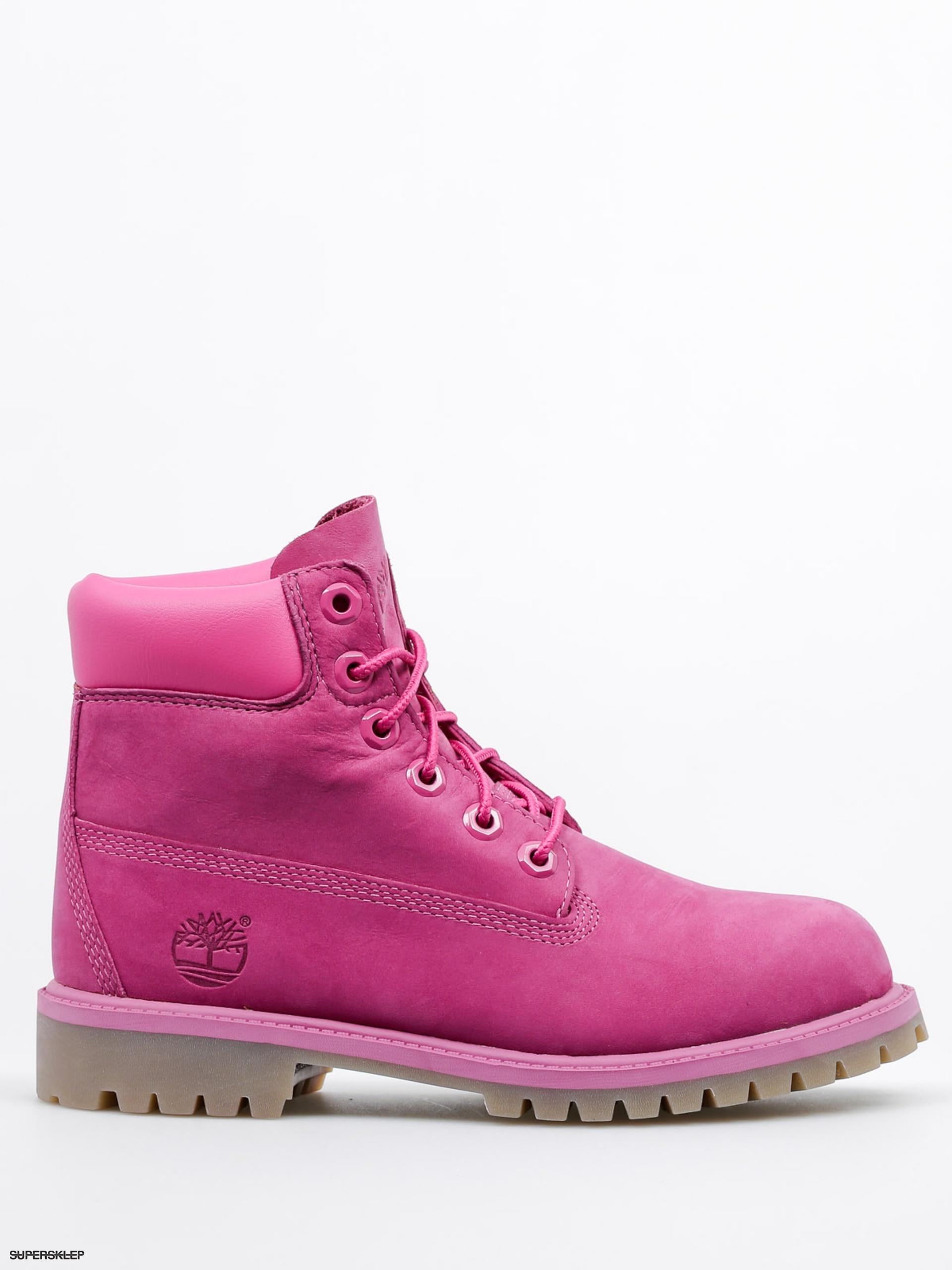 25abb169176 Timberland Dětské boty 6 In Premium WP (pink)
