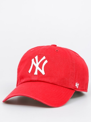 Kšiltovka  47 Brand New York Yankees ZD (washed red)