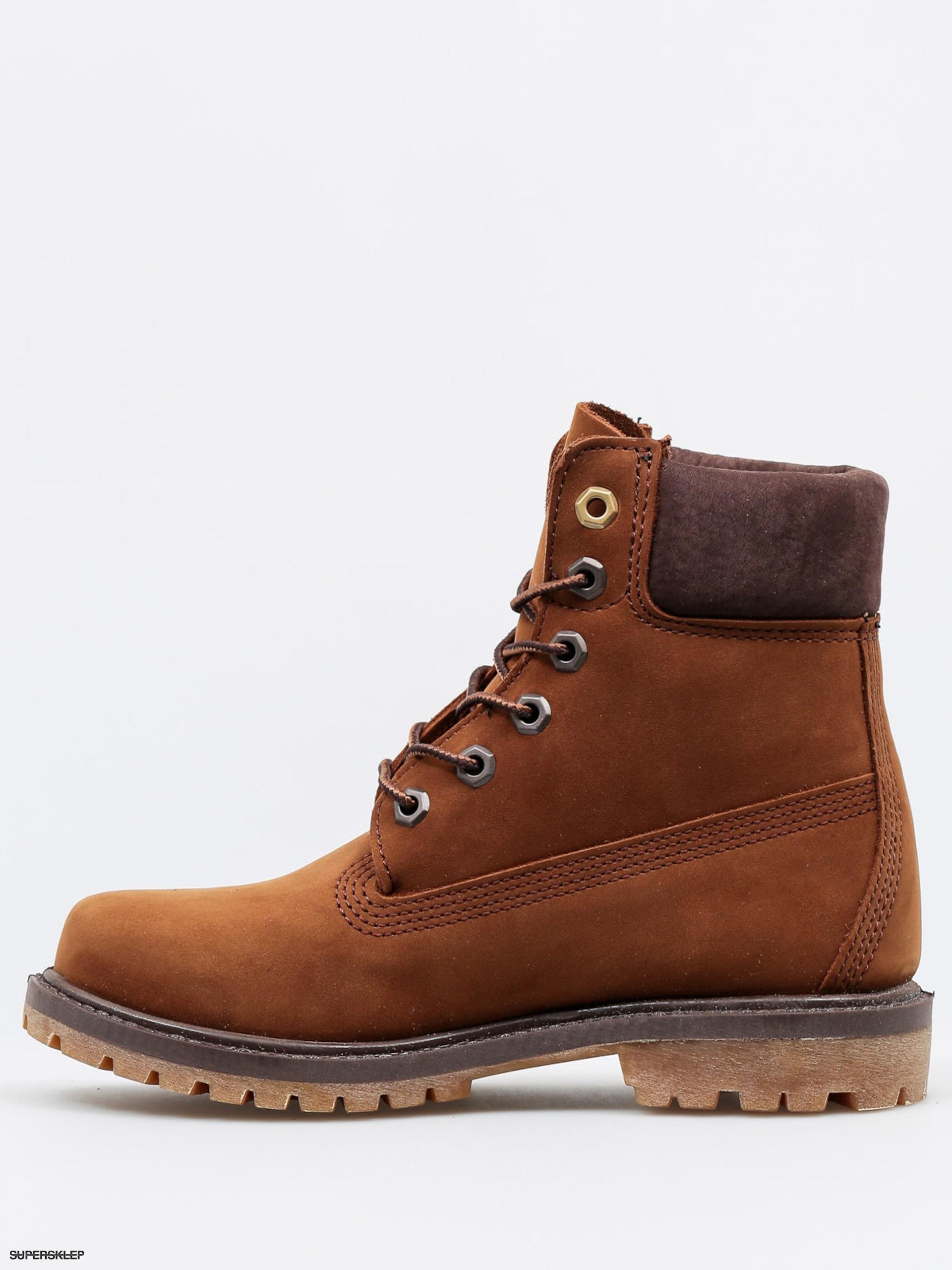 Zimní boty Timberland 6 In Premium Wmn (brown) 9b417c0fbf