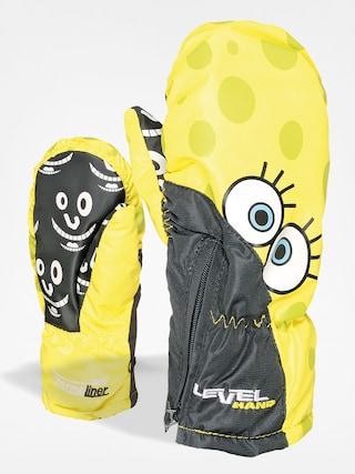 Dětské rukavice Level Lucky Mitt (yellow)