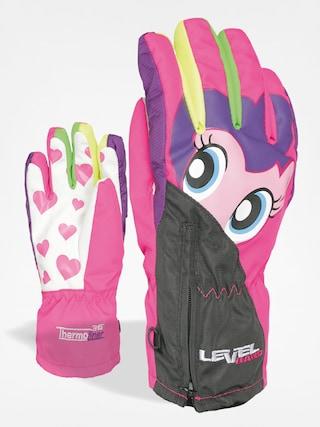 Dětské rukavice Level Lucky (pk rainbow)