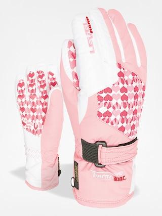Rukavice Level Junior (pink)