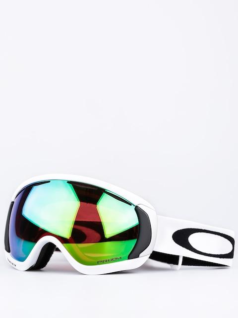 Brýle na snowboard Oakley Canopy (matte white w/prizm jade irid)