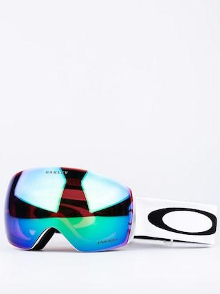 Brýle na snowboard Oakley Flight Deck L (matte white w/prizm jade)