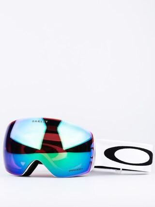 Brýle na snowboard Oakley Flight Deck (matte white w/prizm jade)