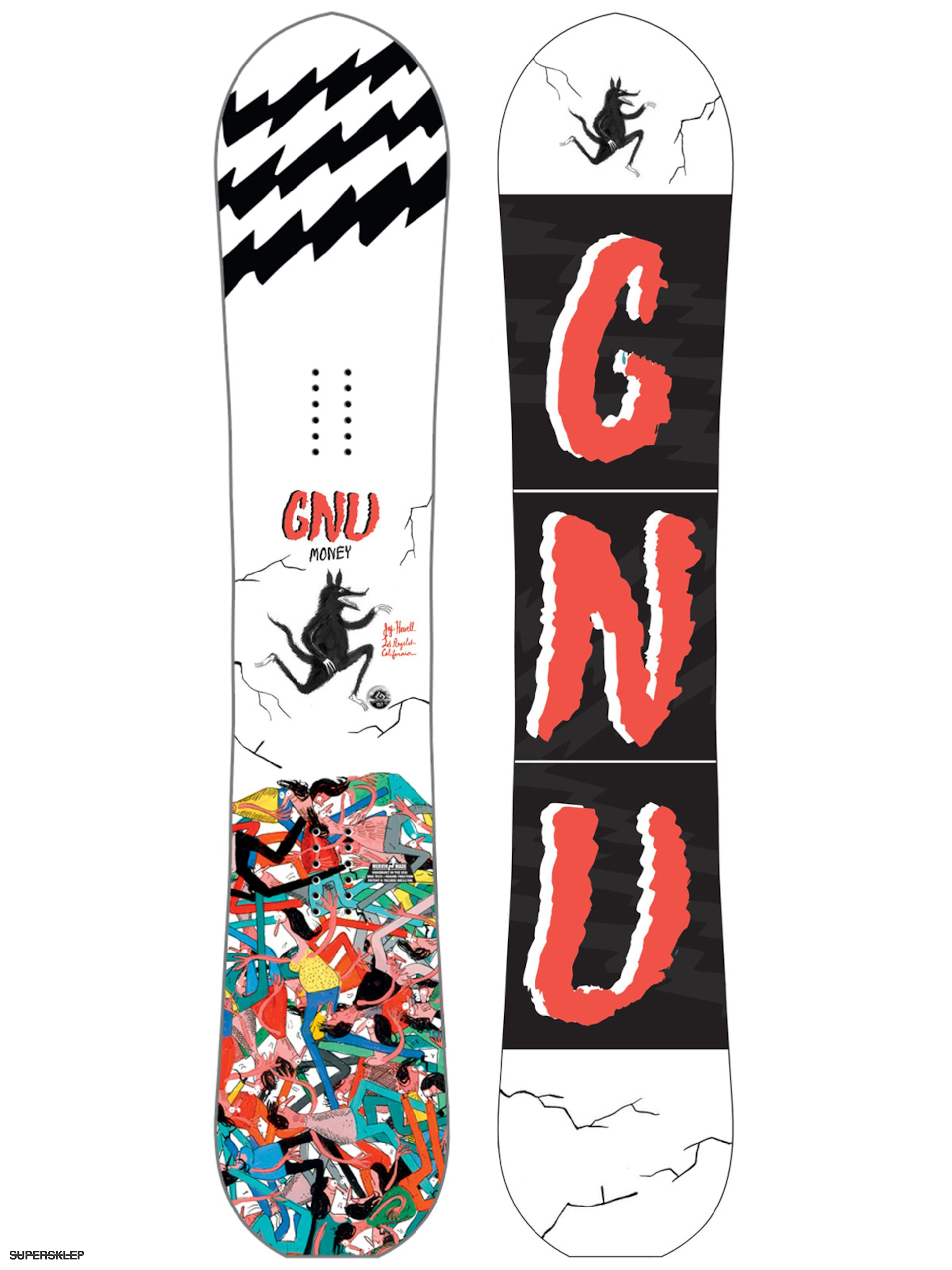 Gnu Snowboard Money