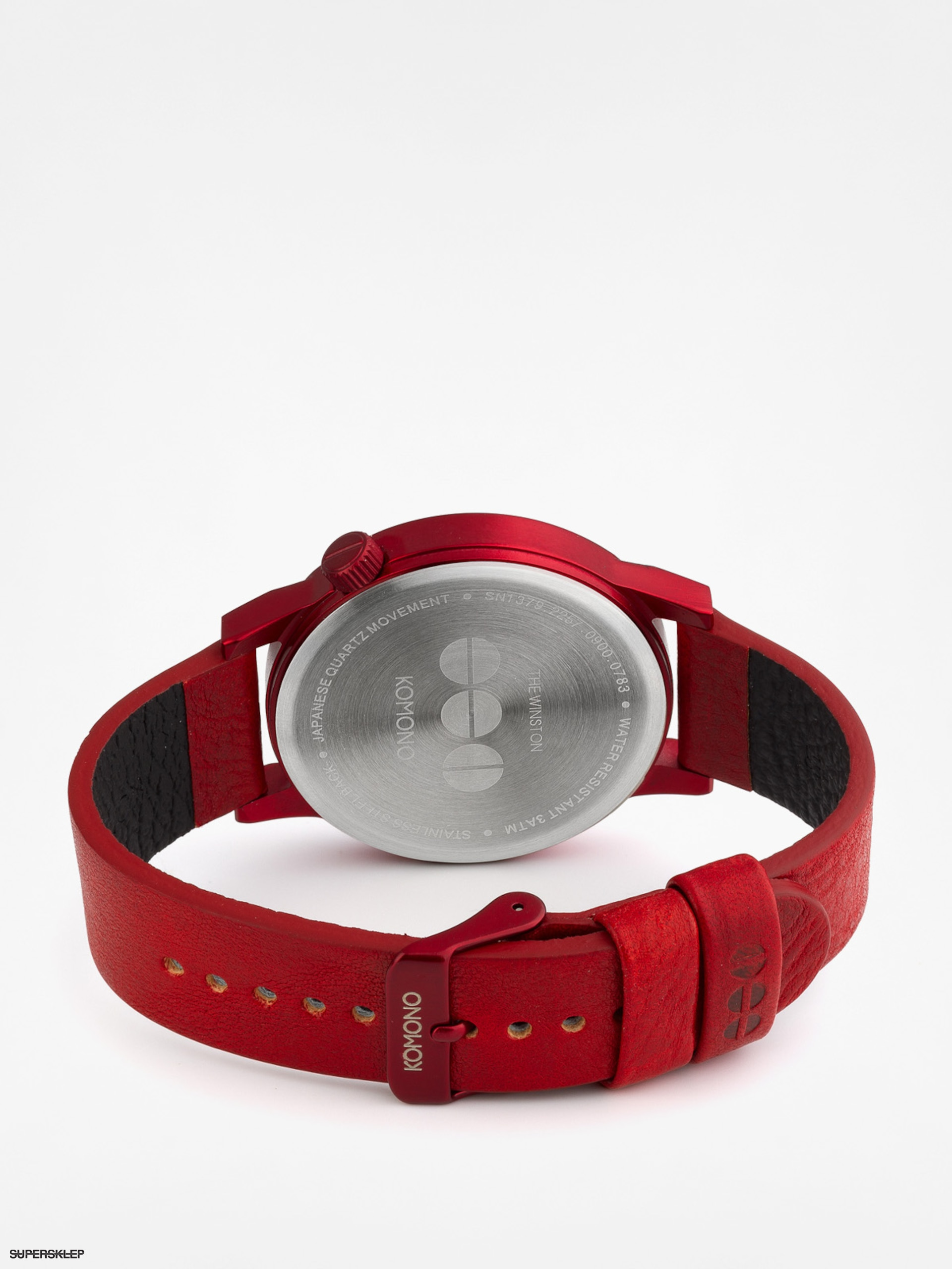 Hodinky Komono Winston Regal (all red) 253f9baa3d